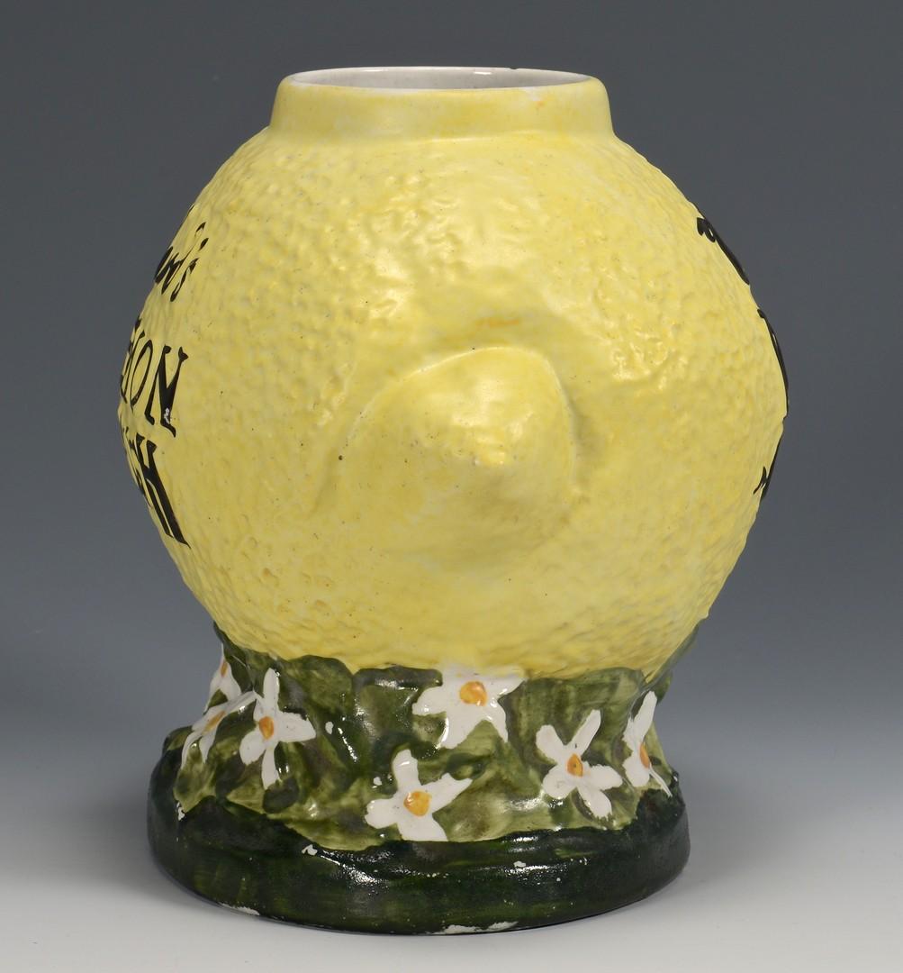Lot 853: Ward's Lemon Crush Countertop Syrup Dispenser