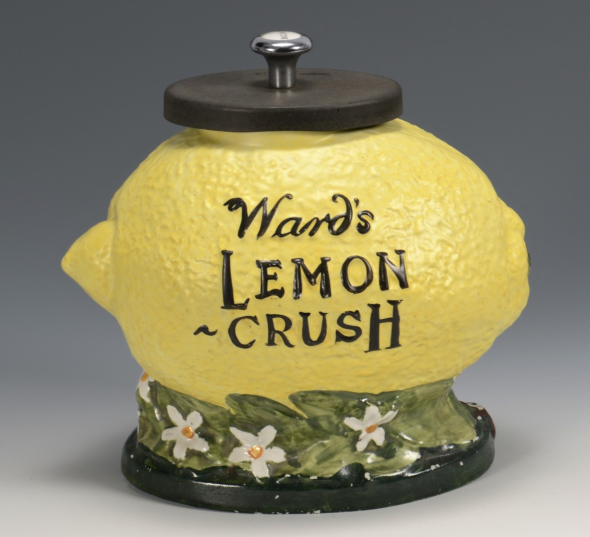 Lot 853: Ward's Lemon Crush Countertop Syrup Dispenser