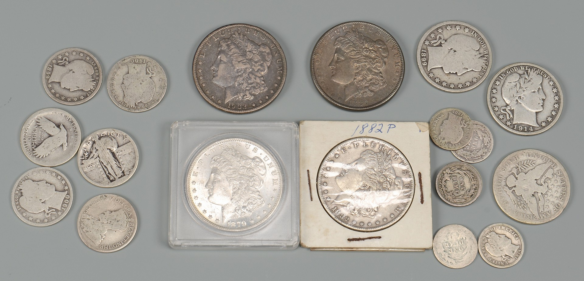 Lot 856: CSA Currency, Silver & 1 Gold Coin