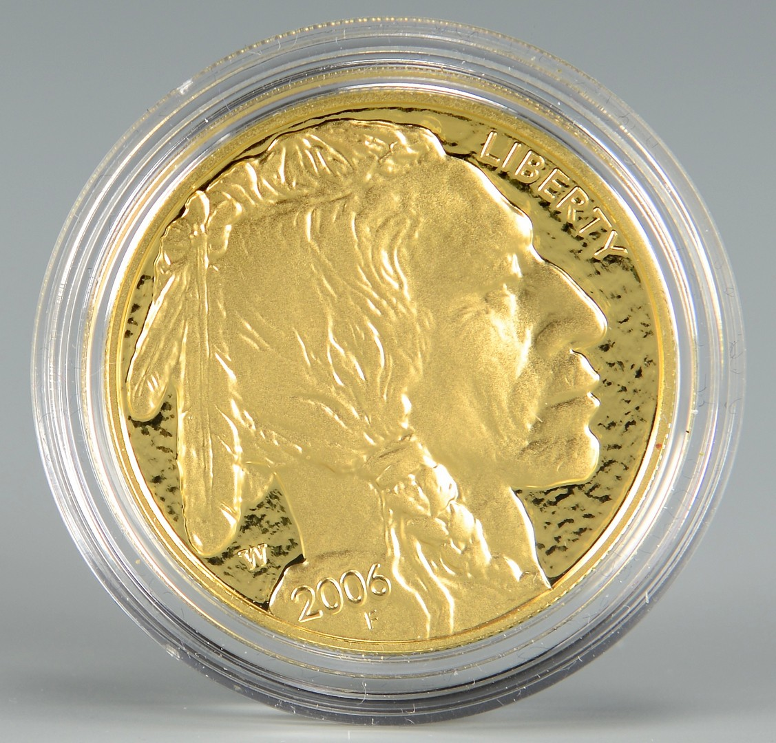 Lot 861: American Buffalo One Ounce Gold Proof Coin