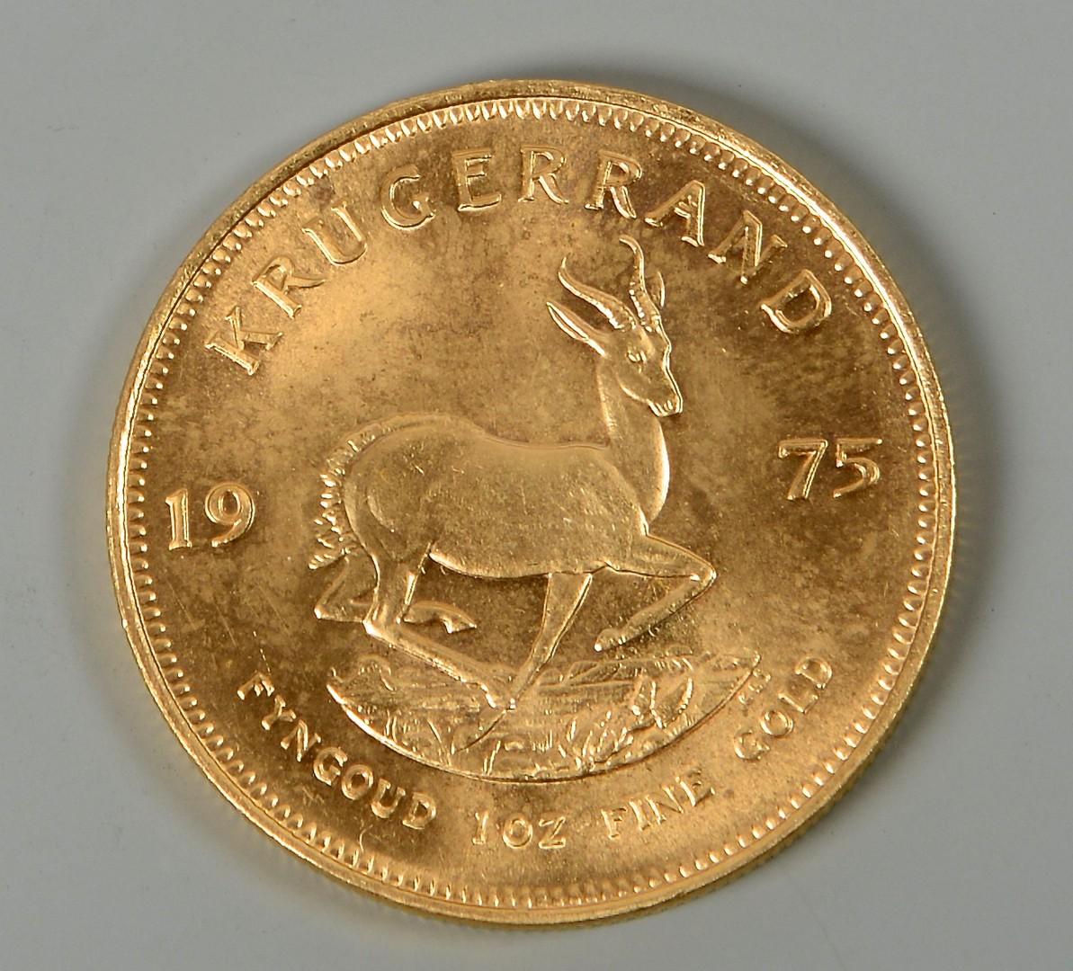 Lot 862: 1 OZ 24K South African Krugerrand