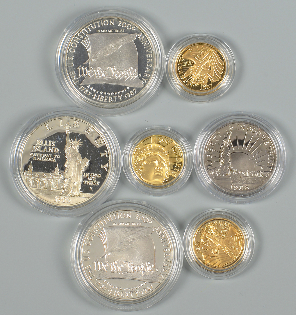 Lot 865 3 Us Mint Collectible Coin Sets