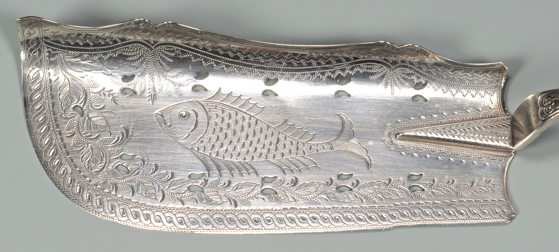 Lot 88: Hyde & Goodrich Coin Fish Slice, New Orleans
