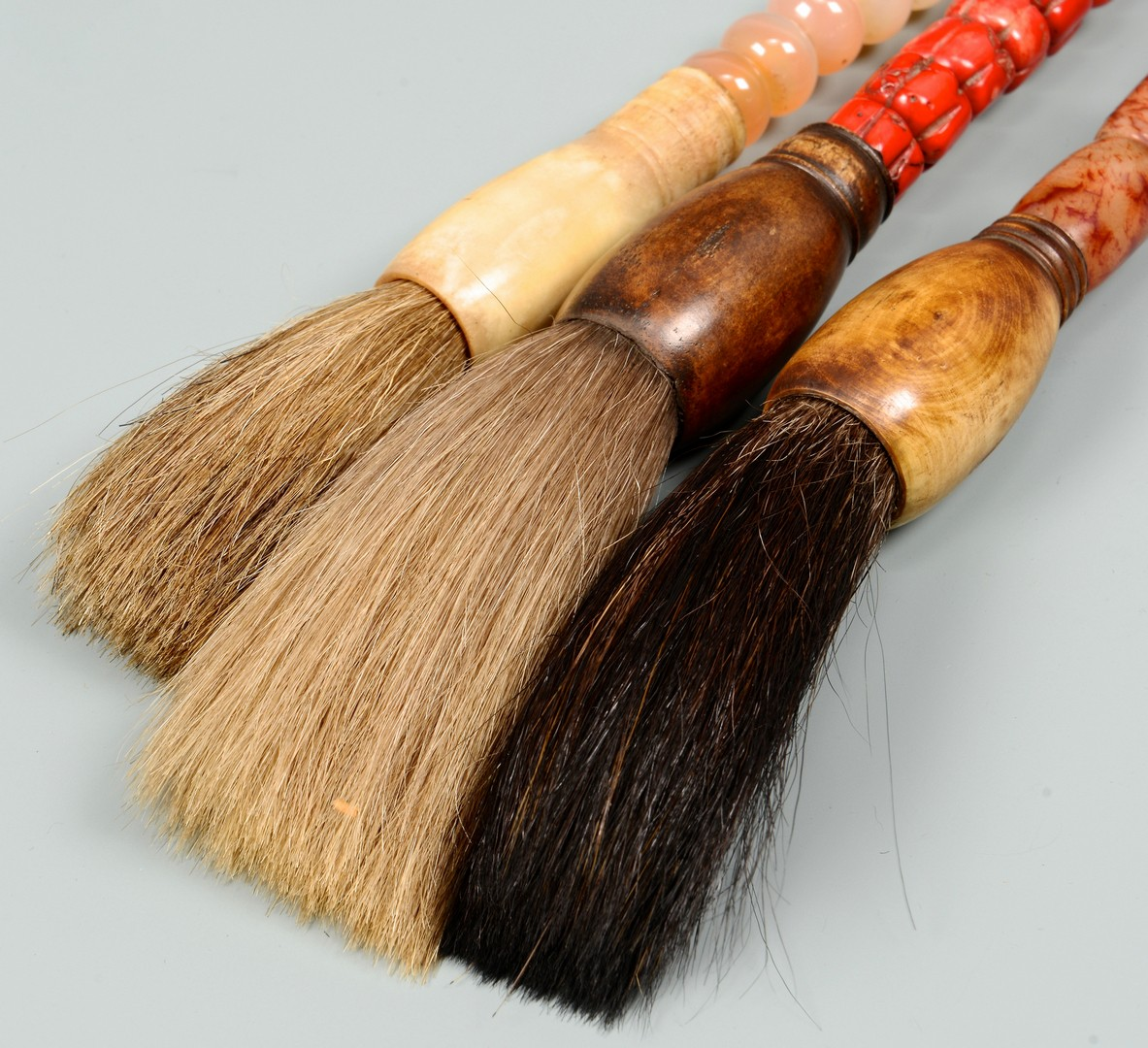 Lot 3832372: 3 Chinese Calligraphy Brushes
