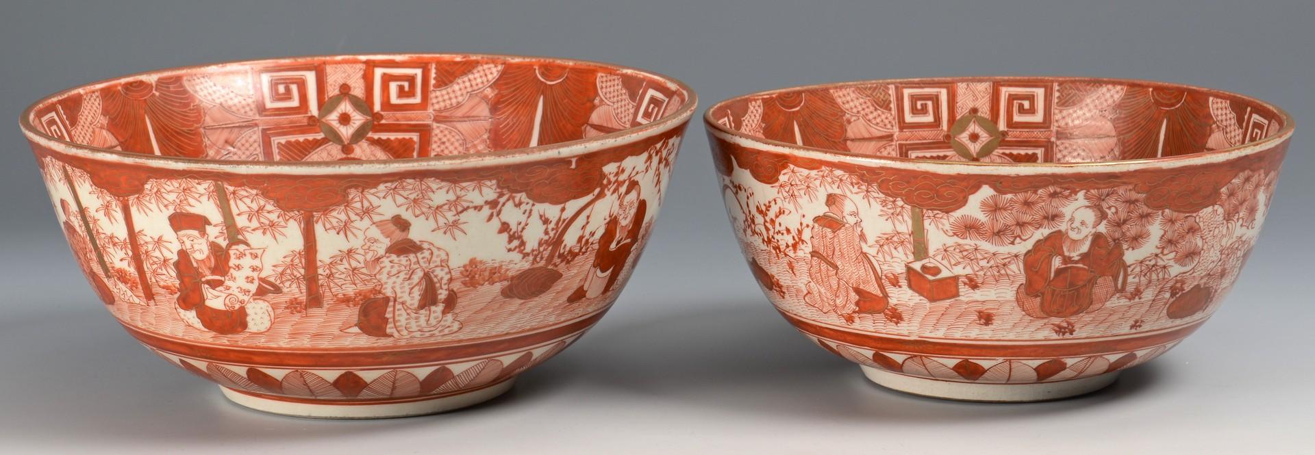 Lot 3832386: 6 Asian Porcelain Bowls incl. Gilded Kutani