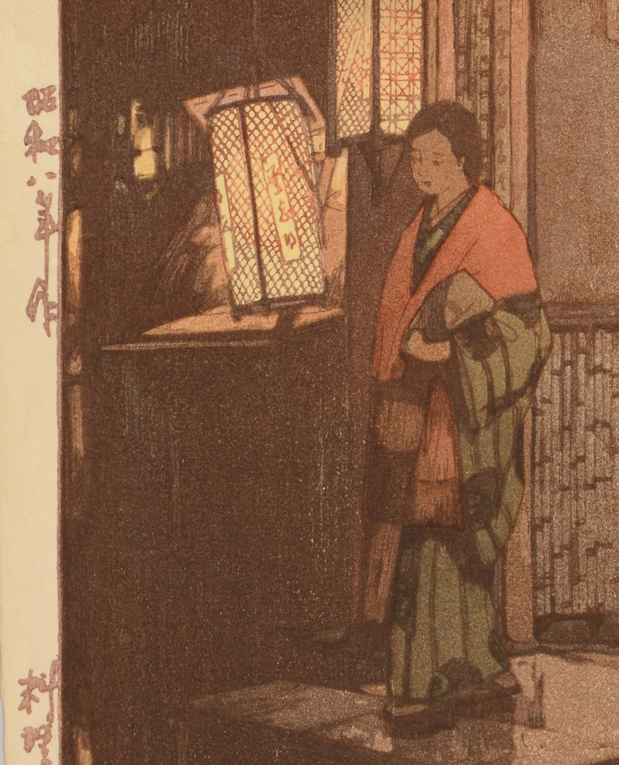 Lot 3832412: Japanese Woodblock Prints, Yoshida