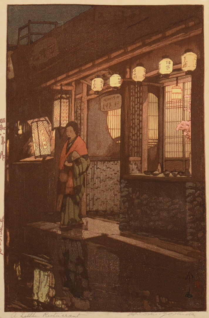 Lot 3832412: Japanese Woodblock Prints, Yoshida
