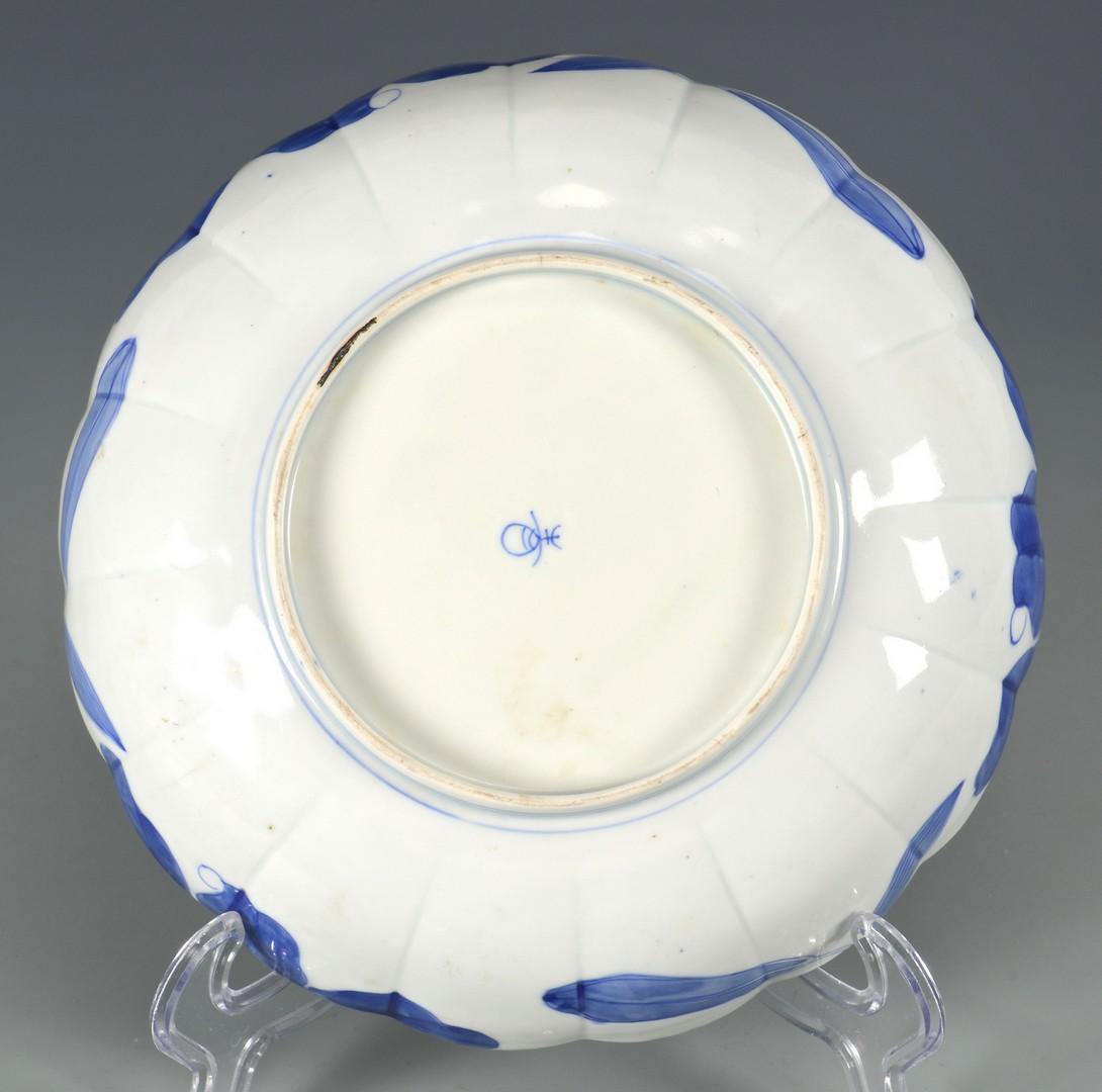 Lot 3832425: Japanese Blue & White Porcelain Bowl