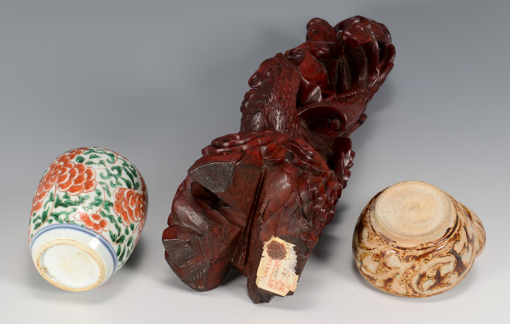 Lot 3832430: 5 Asian Decorative Items 16th-20th c.
