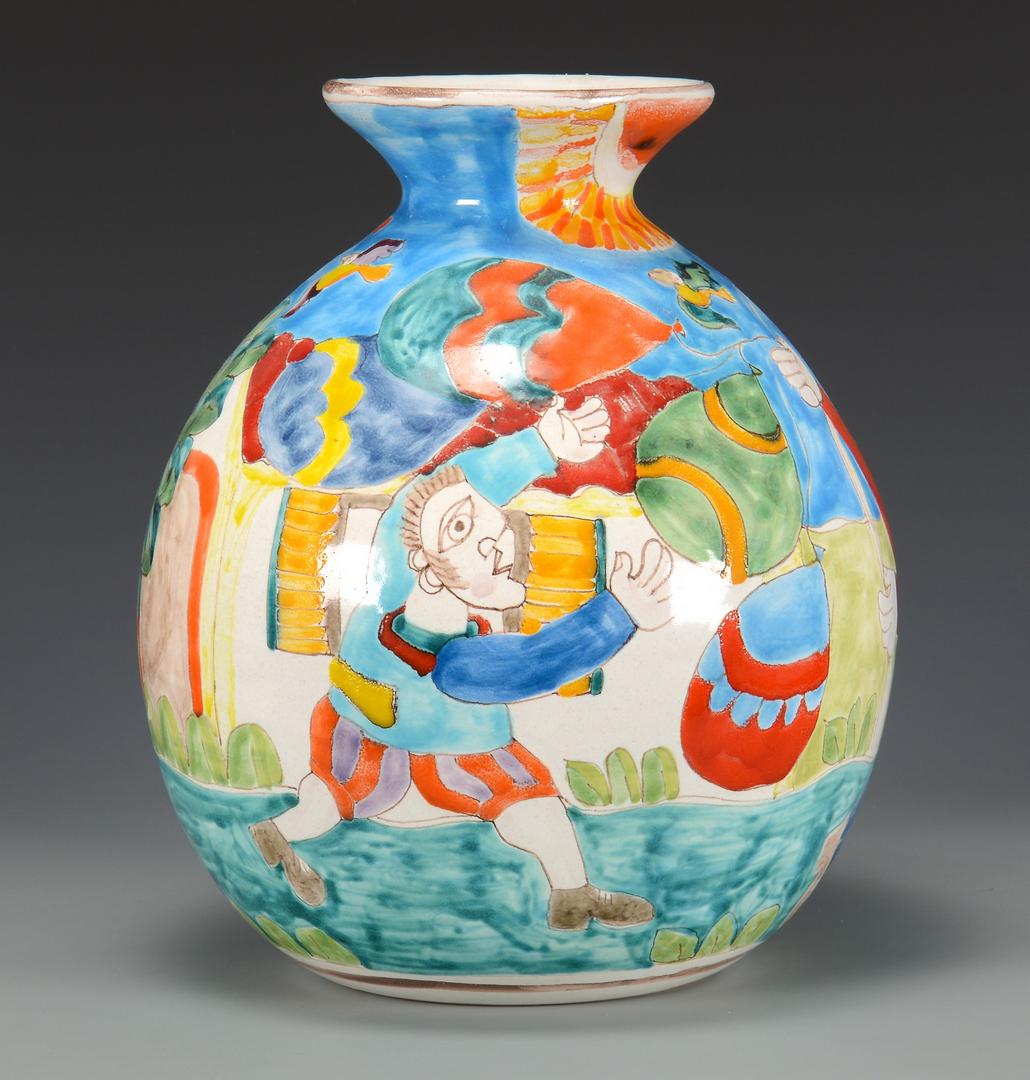 Lot 3832439 2 vases large chinese italian mid century reviewsmspy