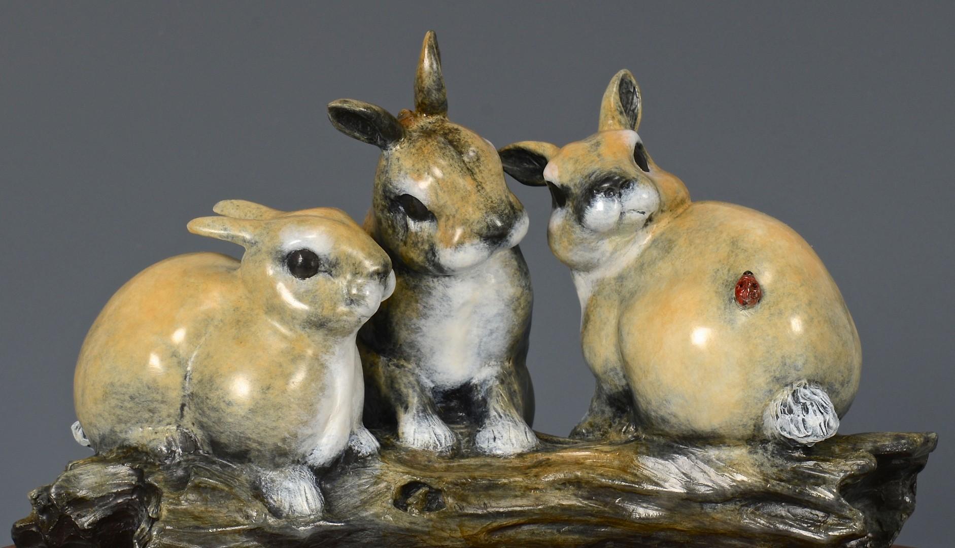Lot 3832445: 2 Robert Ball Bronze Sculptures
