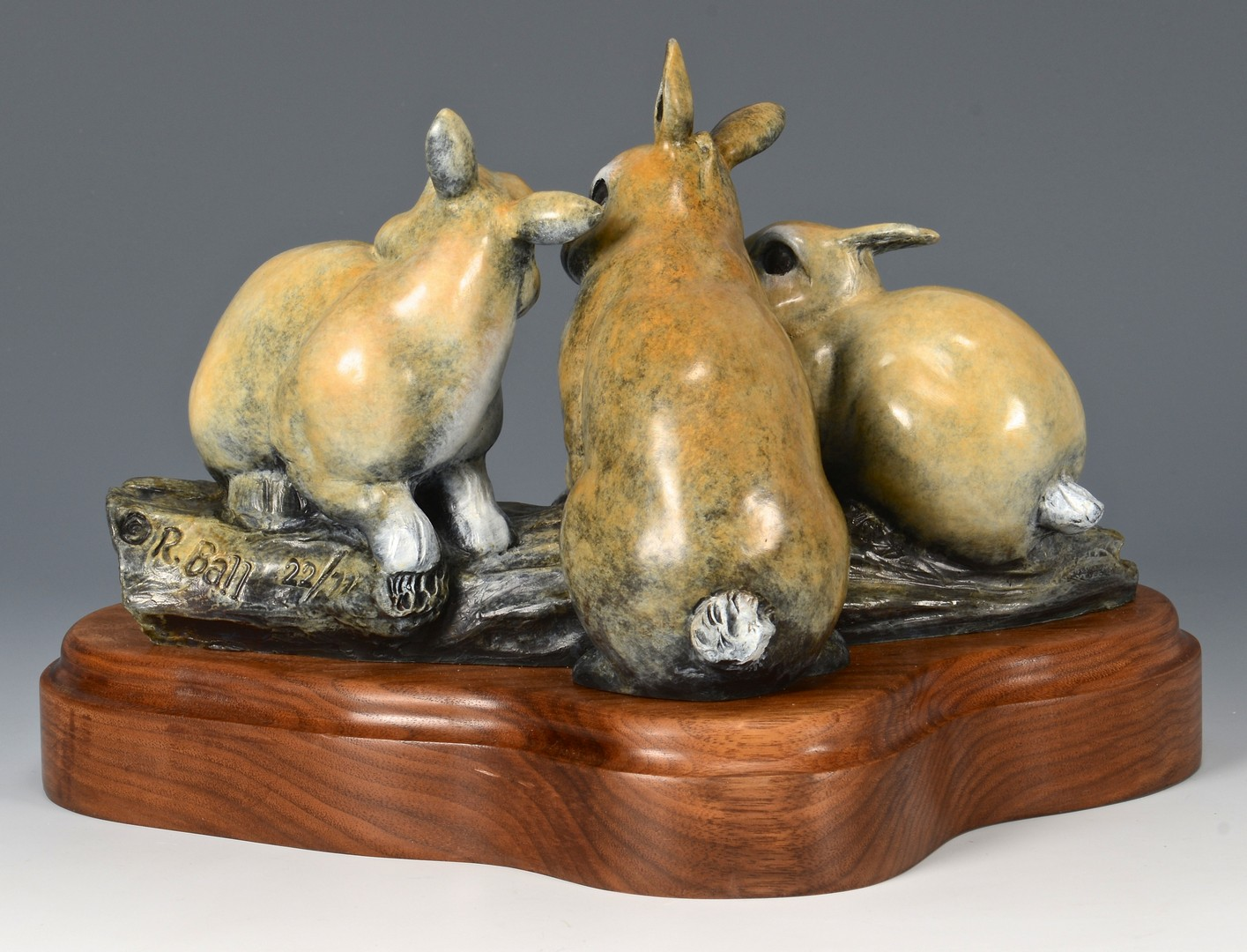 Lot 3832445: 2 Robert Ball Bronze Sculptures