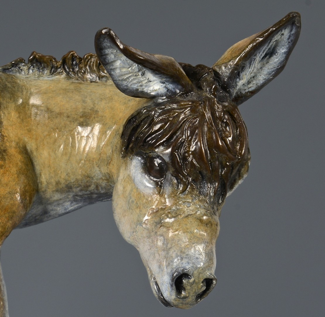 "Lot 3832446: Rae Ann Ball Bronze Sculpture ""Calamity"""