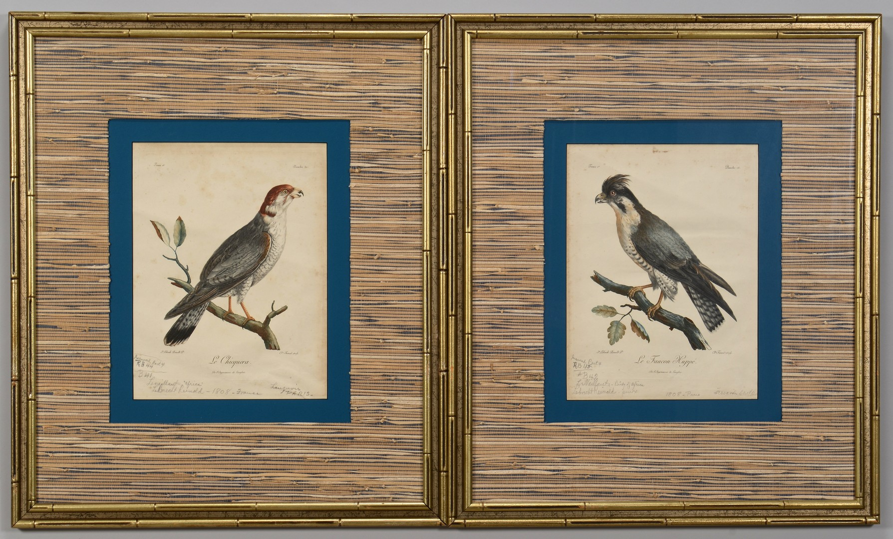 Lot 3832451: Pr C. Fessard Bird Engravings
