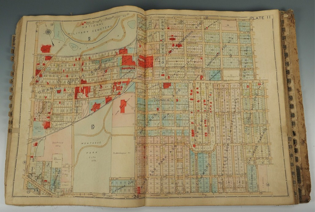 Lot 3832453: Plat Book of Greater Chattanooga District, 1928