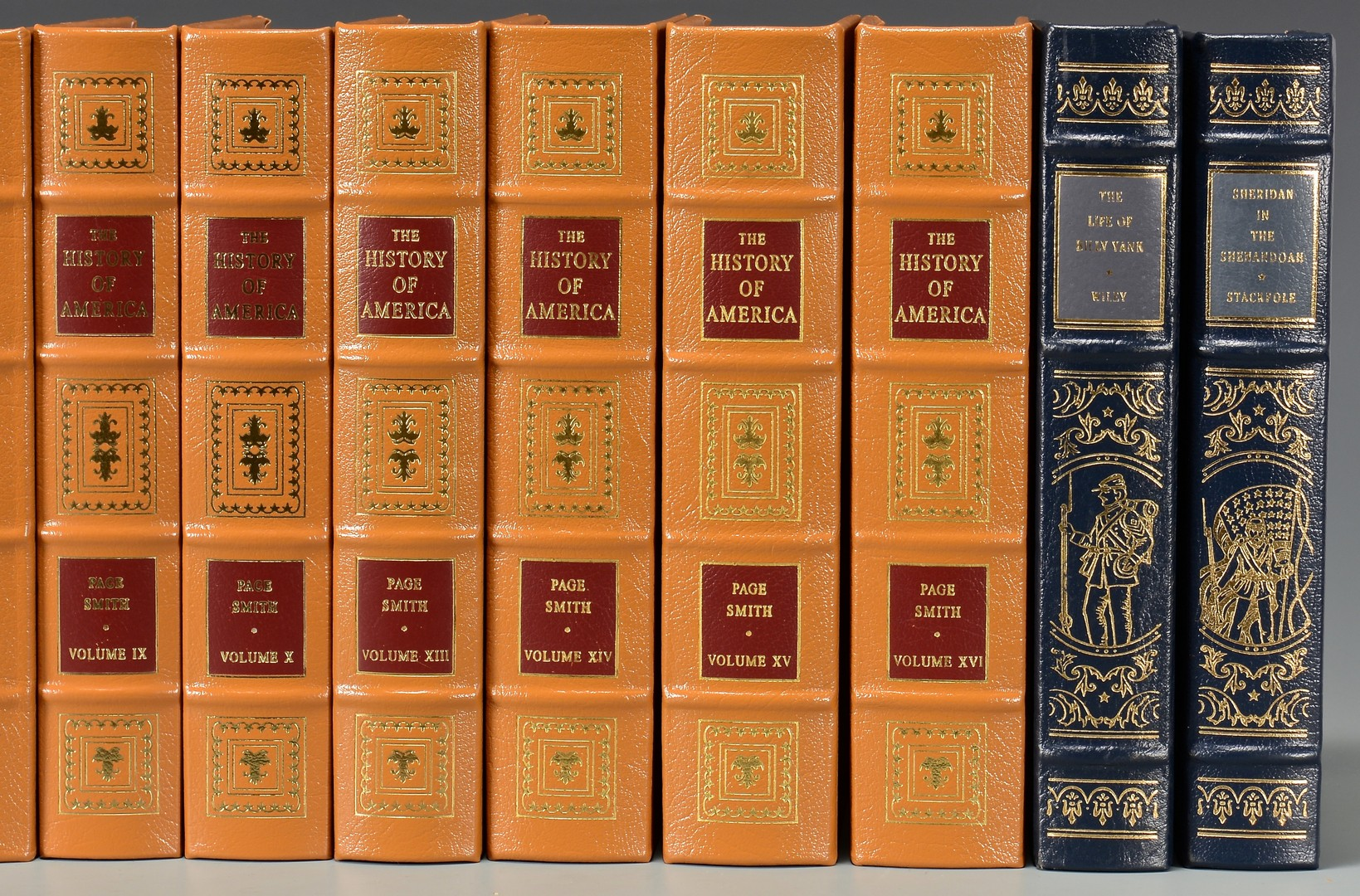 Lot 3832454: 16 Easton Press American History & Civil War Book