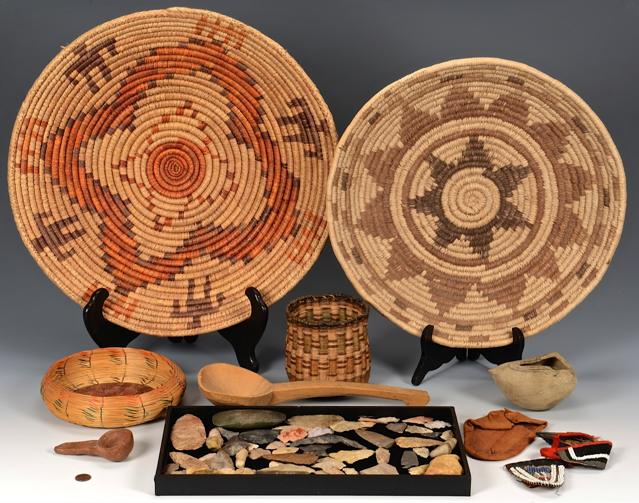 Lot 3832455: Collection of Native American Items, inc. Hopi & more