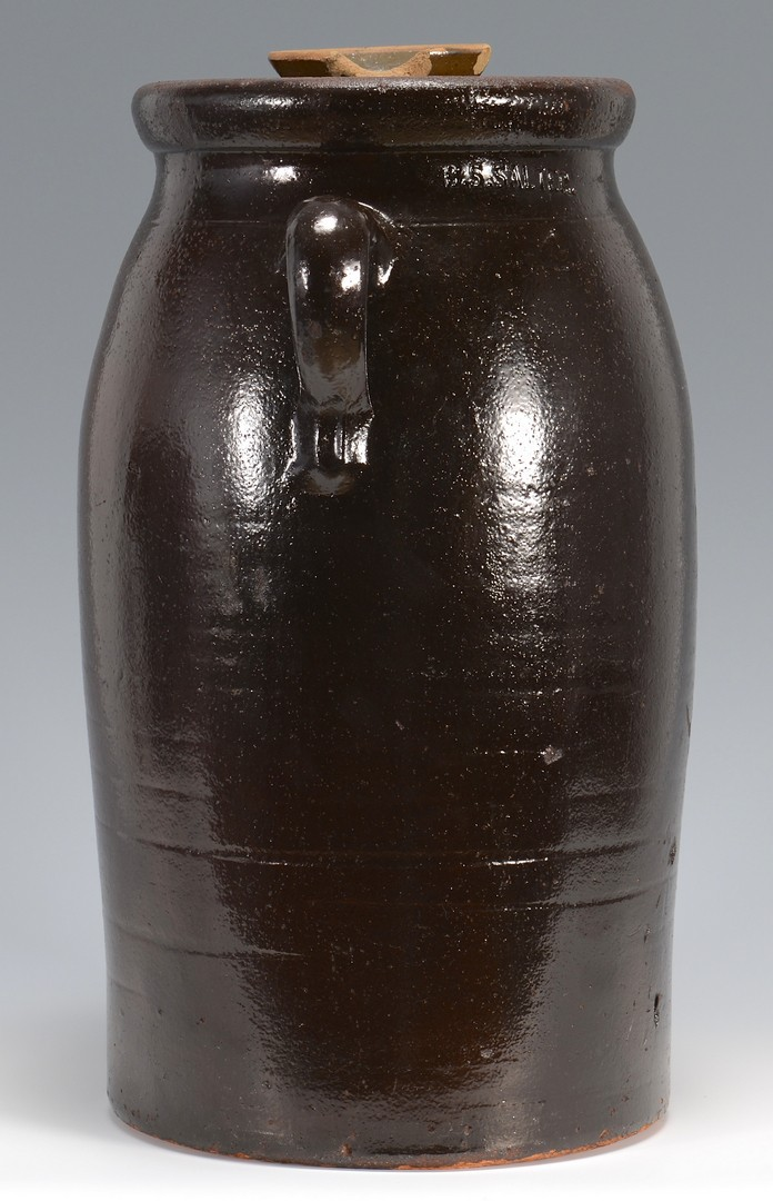 Lot 3832456: Georgia Stoneware Crock, B. S. Salter
