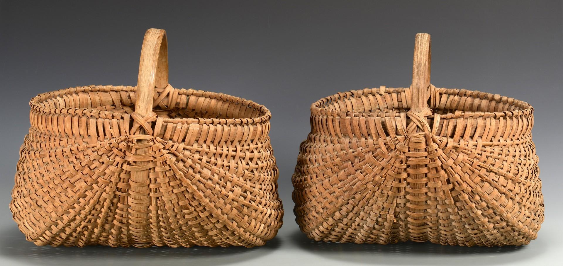 Lot 3832458: 2 Anderson County, TN Buttocks Baskets