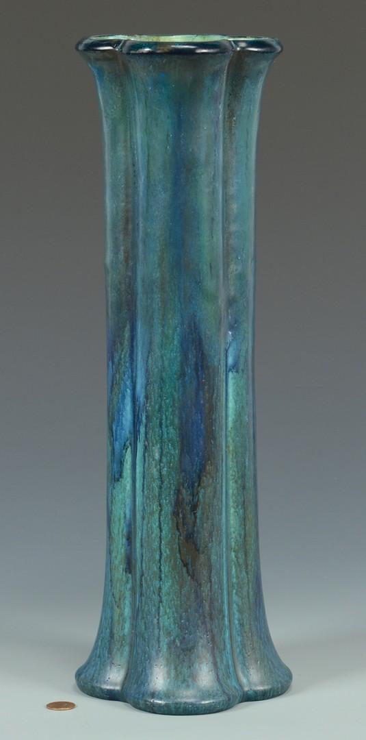 Lot 3832461: Large Rookwood Vase – Teal Glaze