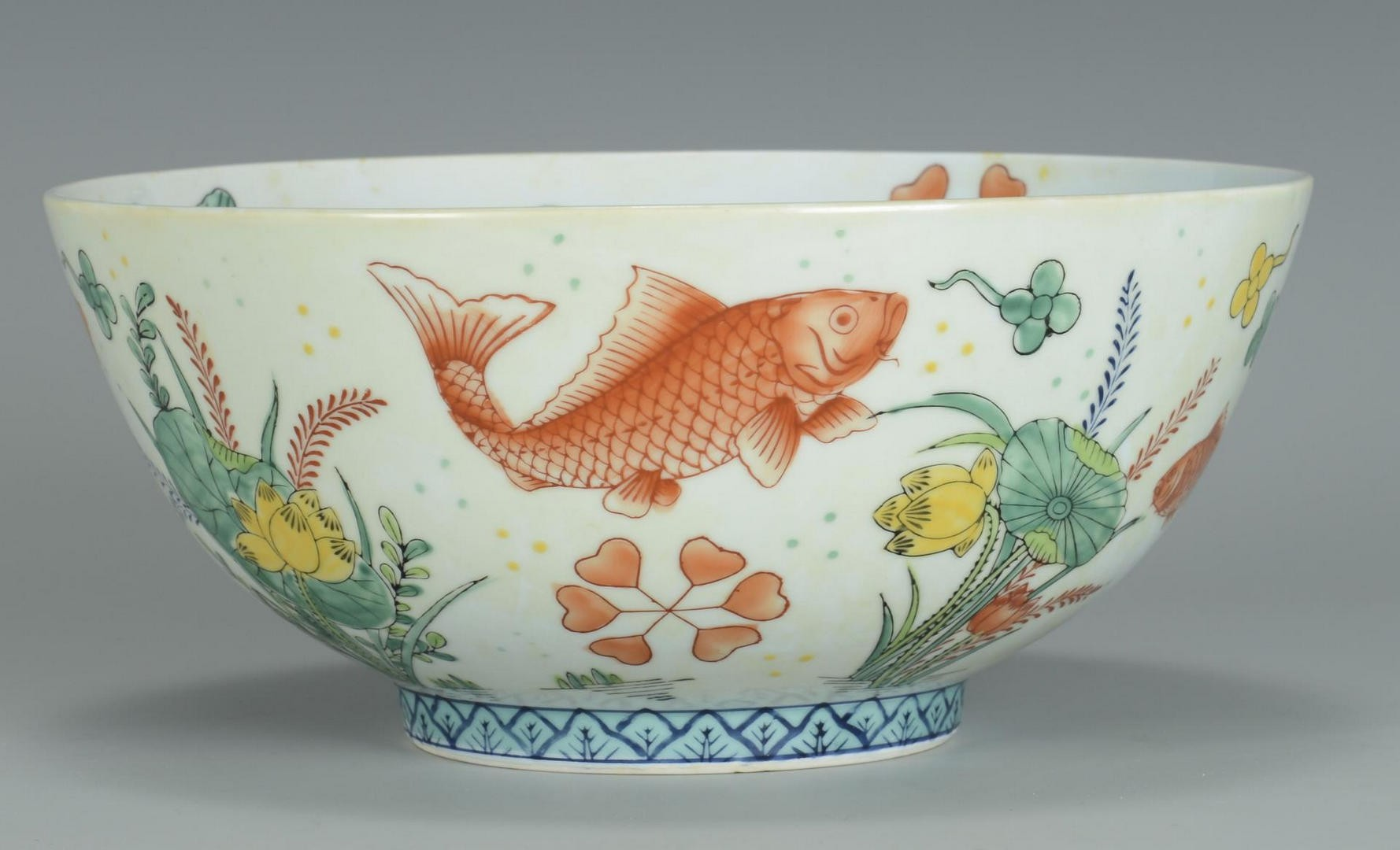 lot 3832465 chinese fish bowl jardiniere