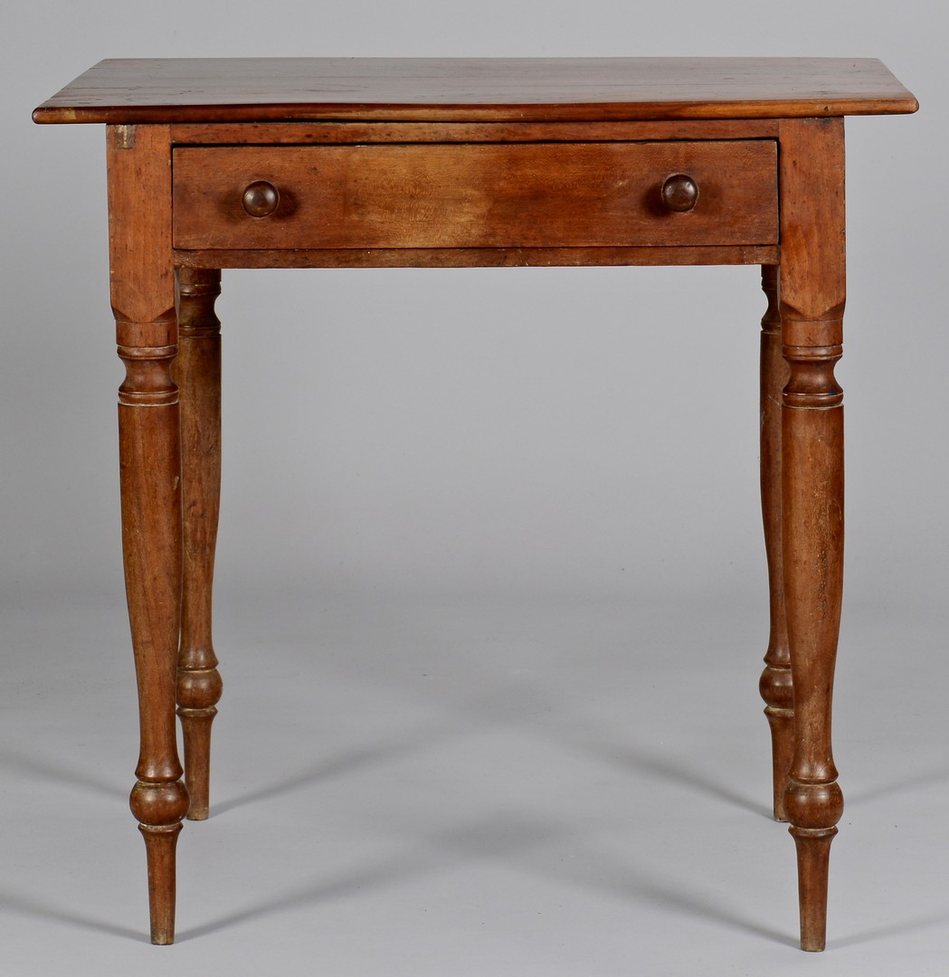Lot 109: East TN Cherry Work Table, Greene or Knox