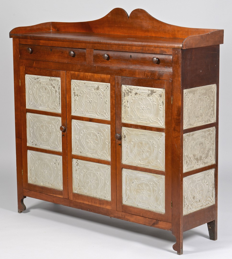 Lot 115: Greene Co. Tennessee Pie Safe Sideboard