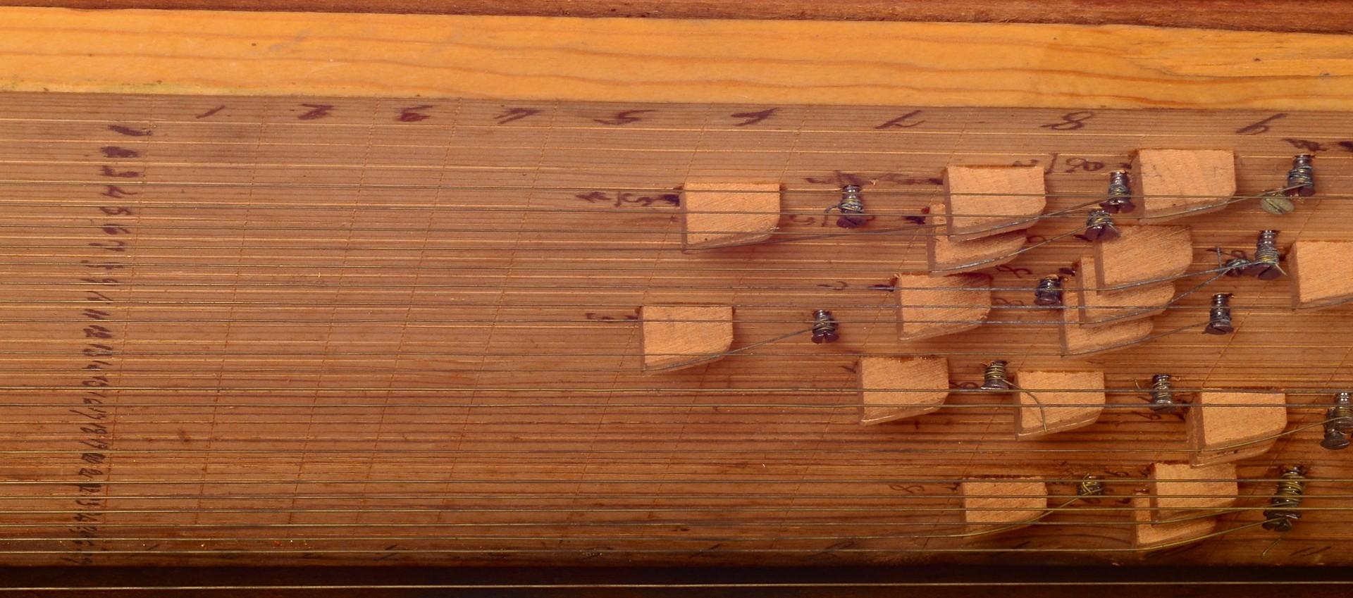 Lot 120: Burgner, Greene Co. TN Musical Desk, dated 1819