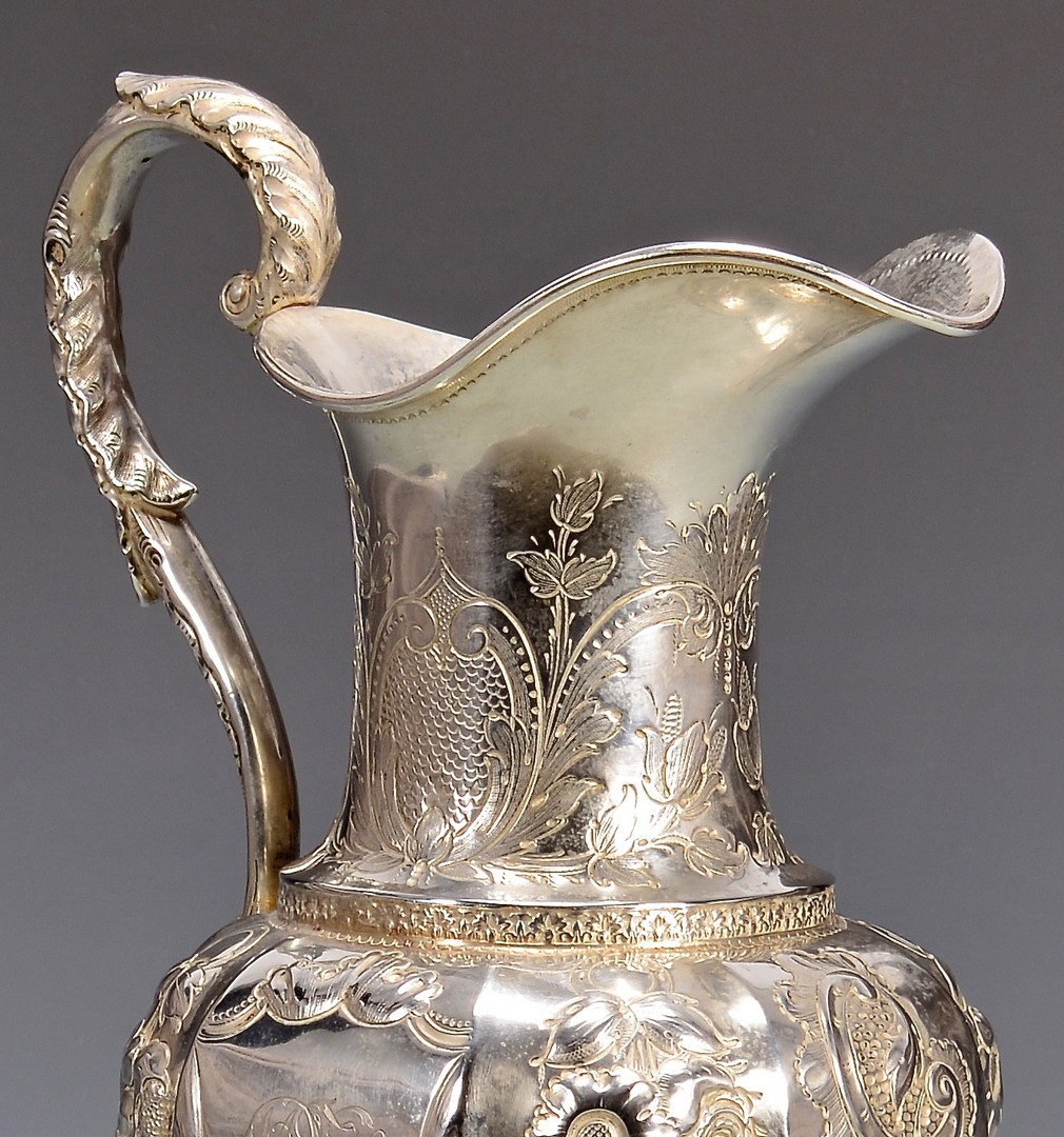 Lot 124: TN Coin Silver Pitcher, Winchester Family