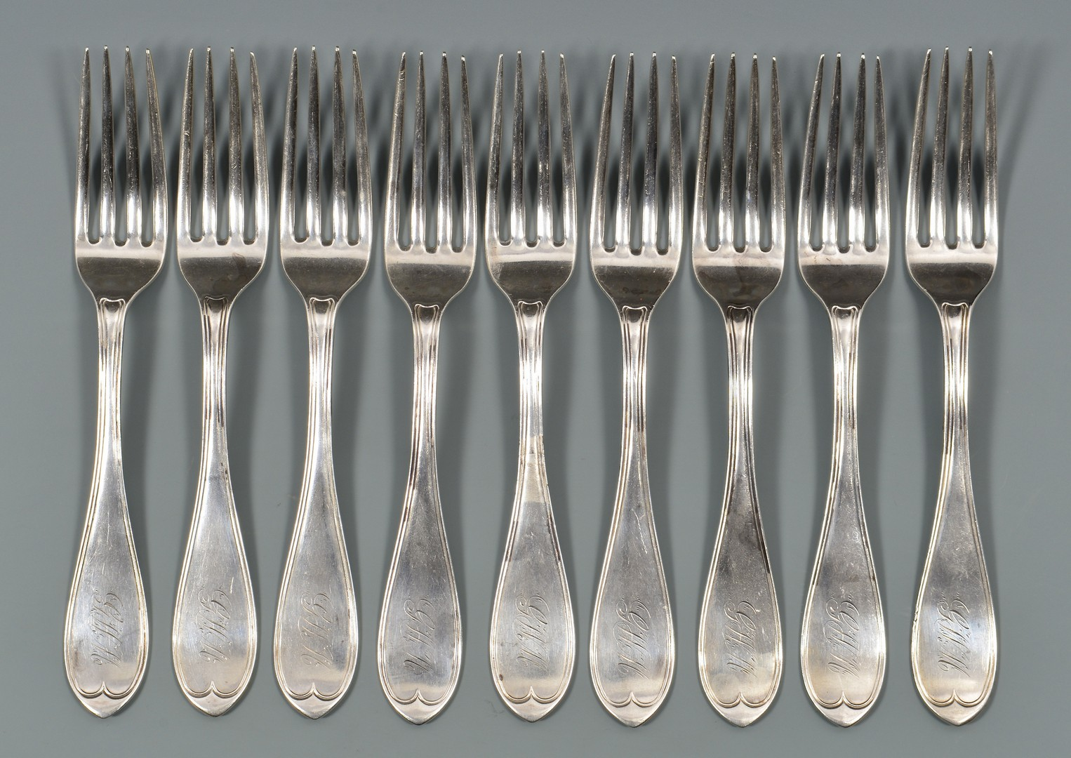 Lot 136: 15 Memphis, Tennessee retailed forks