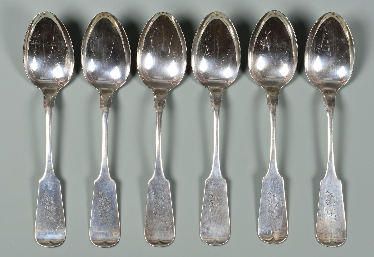 Lot 140: 12 B.H. Steif Nashville spoons