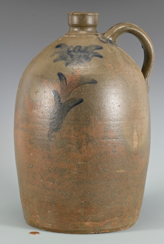 Lot 145: Large East TN Decker 5 Gal. Pottery Jug