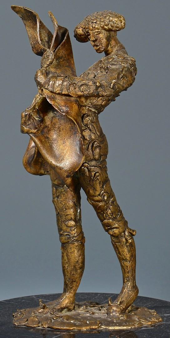 Lot 165: Heriberto Juarez Bronze Sculpture, Matador