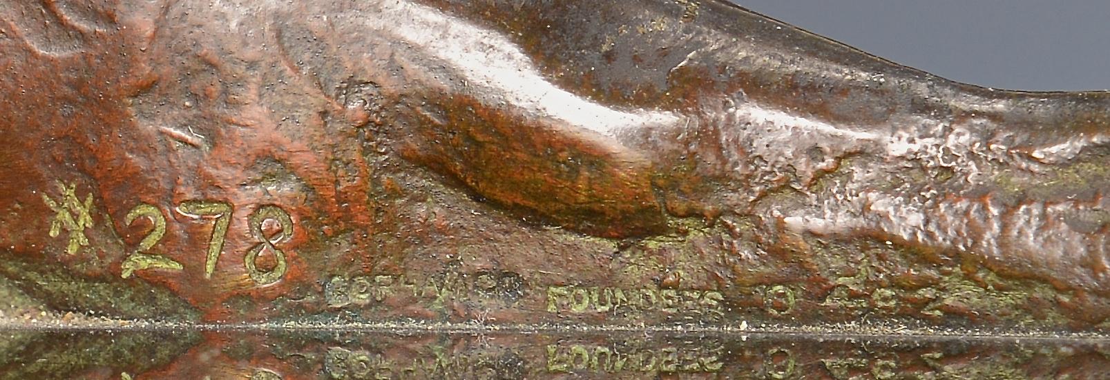 Lot 167: Anna Hyatt Huntington Bronze Tiger or Panther