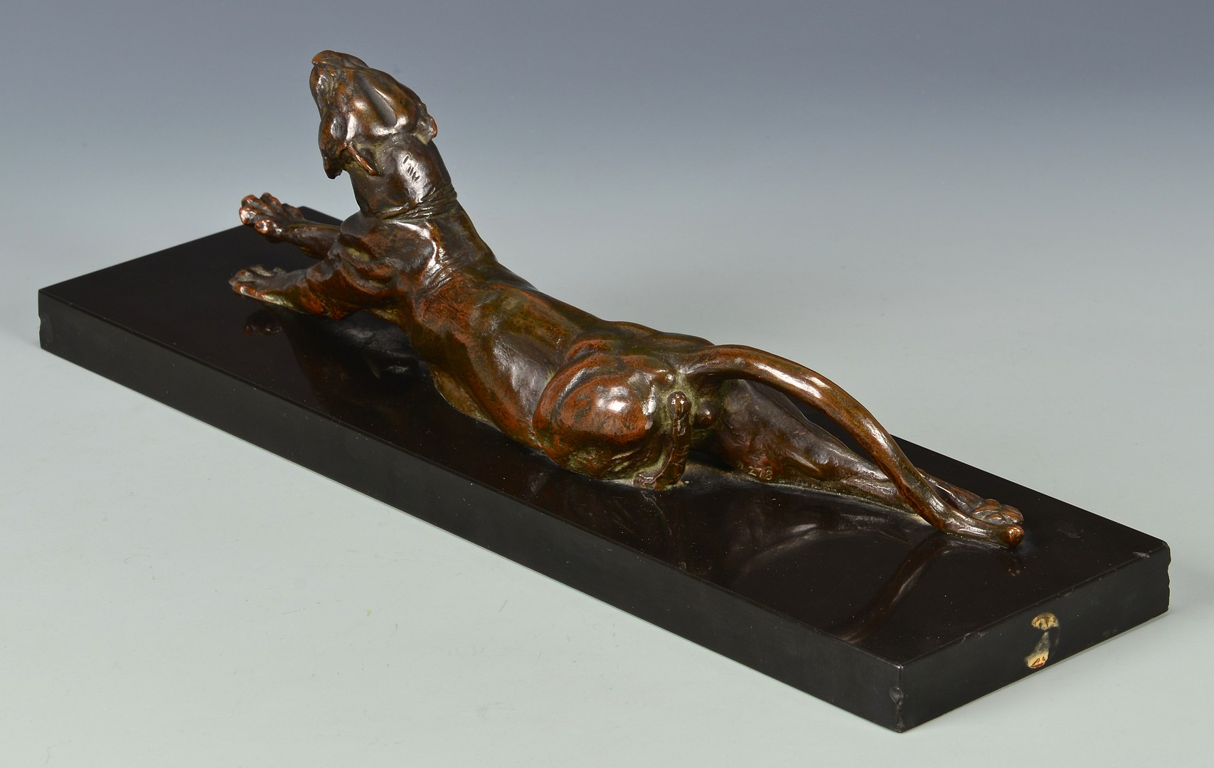 Lot 167: Anna Hyatt Huntington Bronze Tiger or Panther