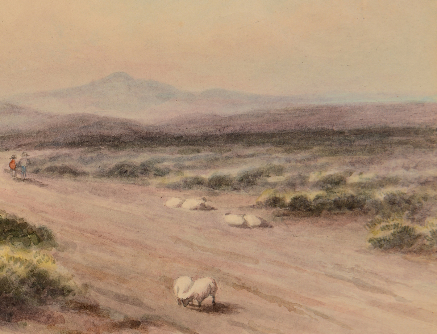 Lot 172 Maria Howard Weeden Watercolor Landscape