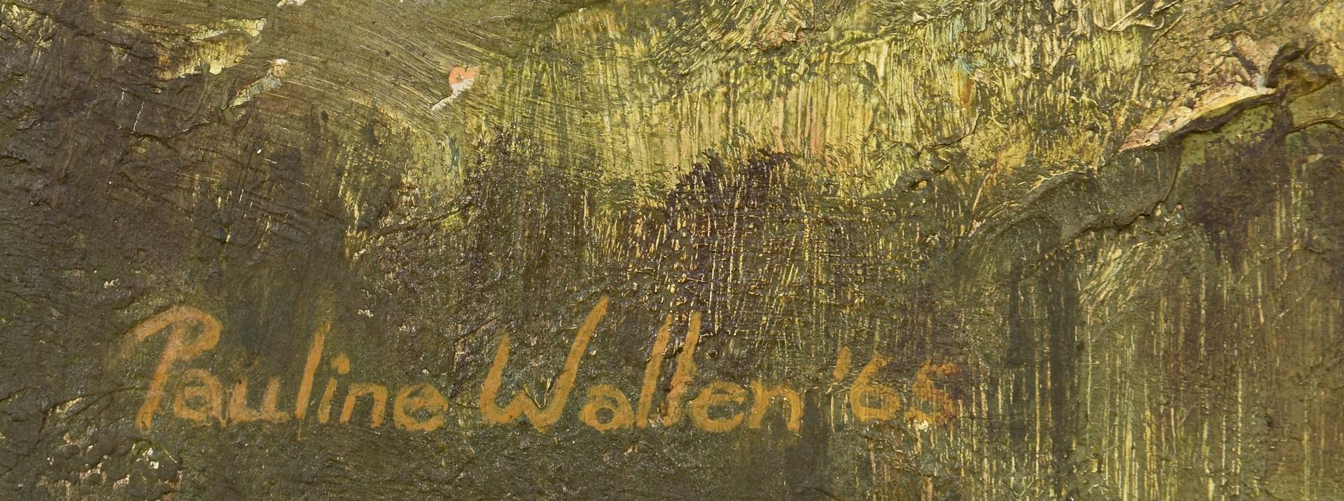 Lot 178: Pauline Wallen, oil on canvas, Smokey Mtns