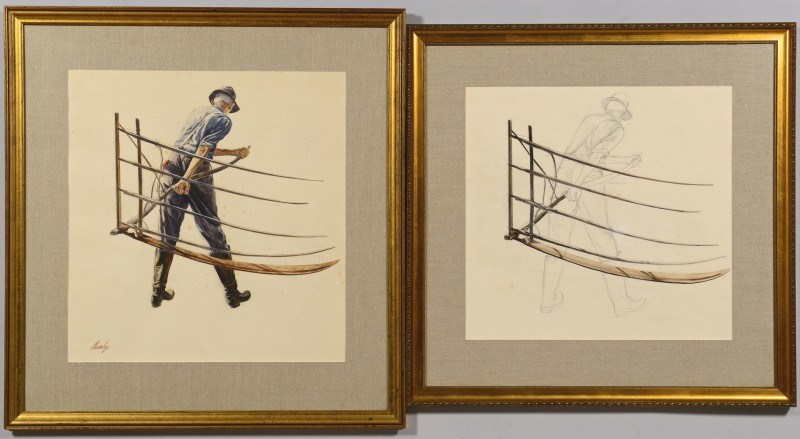 Lot 179: 2 John Chumley Works of Art