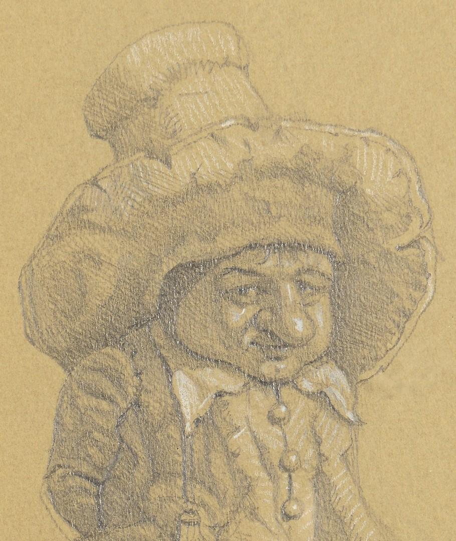 Lot 185: 2 Werner Wildner framed Gnomes