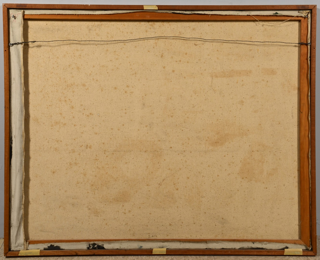 Lot 186: C. Kermit Ewing Abstract Oil on Canvas