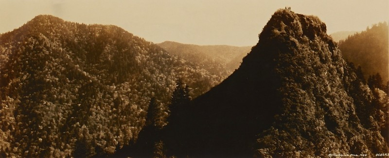 Lot 188: Vintage Smoky Mountains Photograph, Thompson Broth