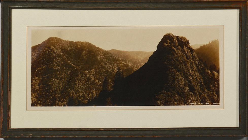 Lot 188: Vintage Smoky Mountains Photograph, Thompson Broth