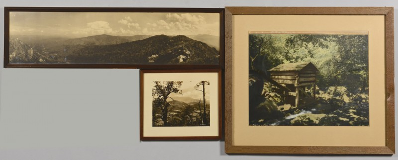 Lot 189: 3 Vintage Great Smoky Mtns. Photos, Jim Thompson