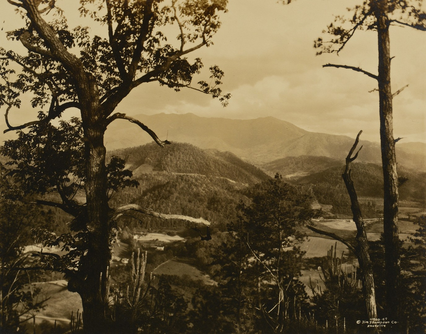 Lot 189: 3 Vintage Great Smoky Mtns. Photos, Jim Thompson