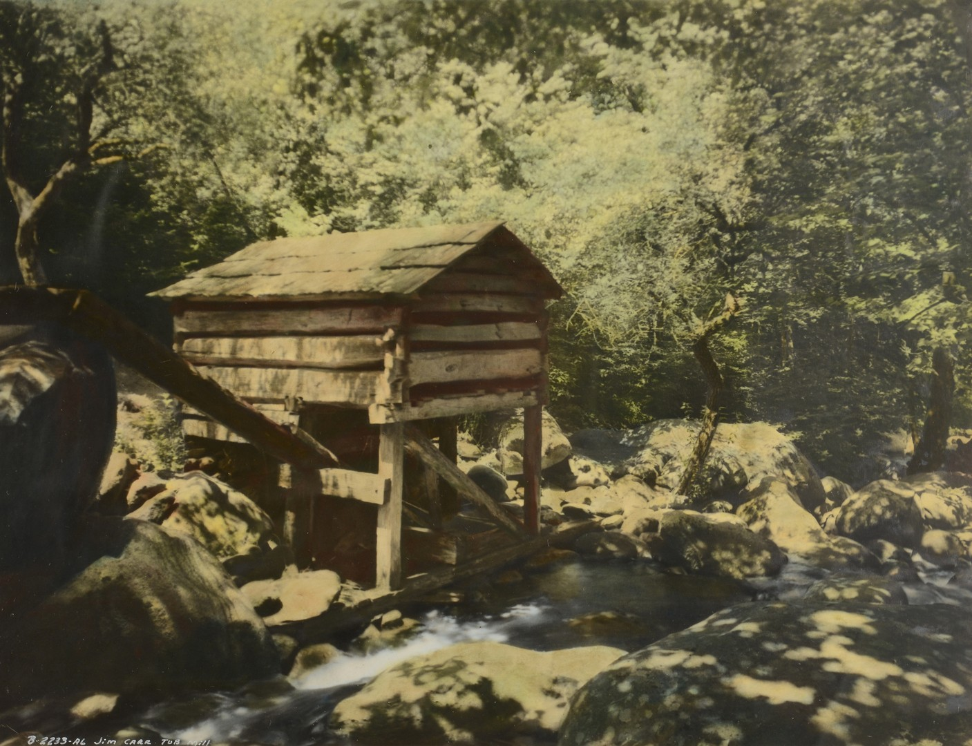 Lot 189 3 Vintage Great Smoky Mtns Photos Jim Thompson