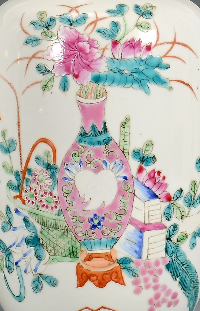 Lot 18: Chinese Republic Porcelains and Textiles