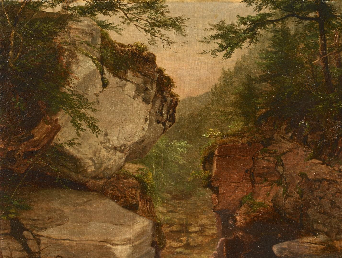 Lot 190: American School Mountain Landscape