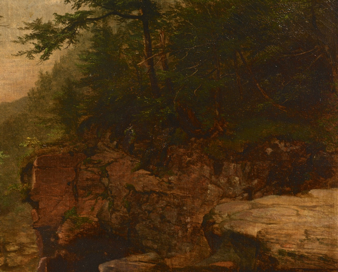 Lot 190: American School Mountain Landscape