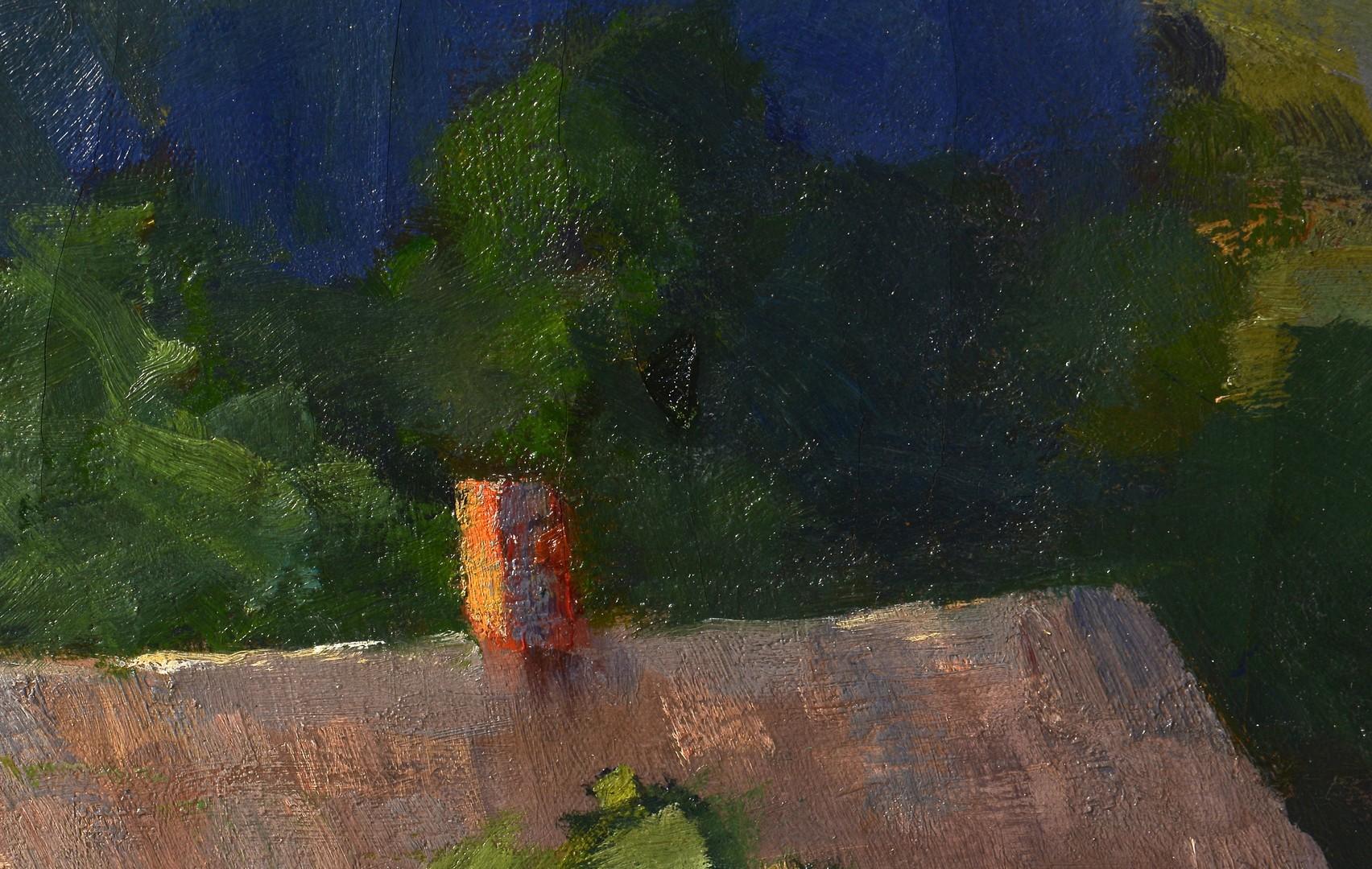Lot 192: Marian Parkhurst Sloane o/c Landscape Painting
