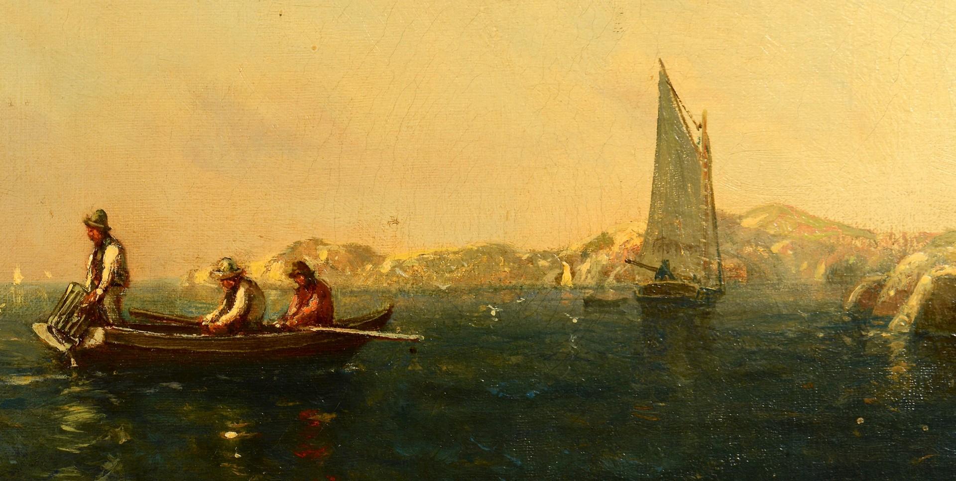 Lot 194: Arthur Quartley Oil on Canvas, A Summer Afternoon